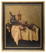 Russian sch. 20 c, Still life in the manner of Pieter Claesz (1597-61)