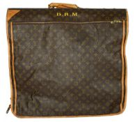 A Louis Vuitton monogram suit carrier/garment bag