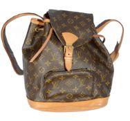 A Louis Vuitton monogrammed ruck sack
