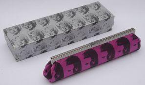 Philip Treacy limited edition Andy Warhol 'Elvis' clutch bag