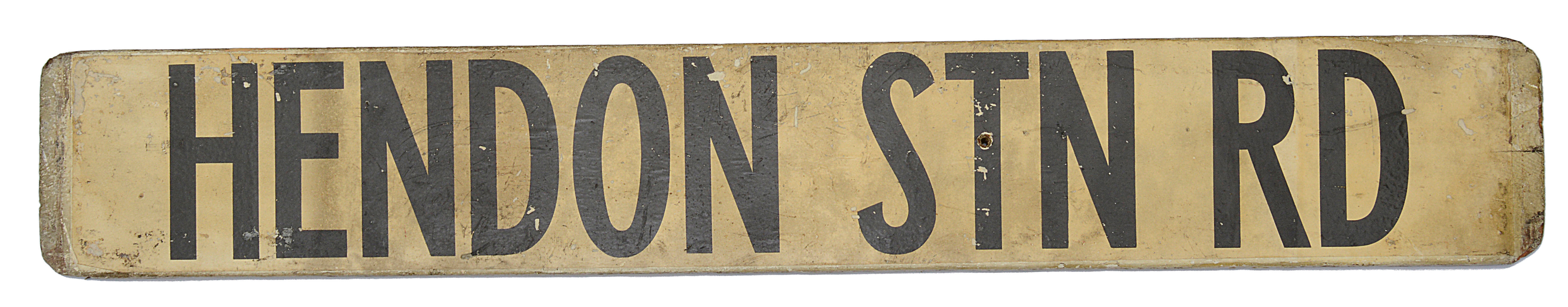Three double sided wooden destination signs - Image 8 of 8