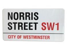 Norris Street SW1