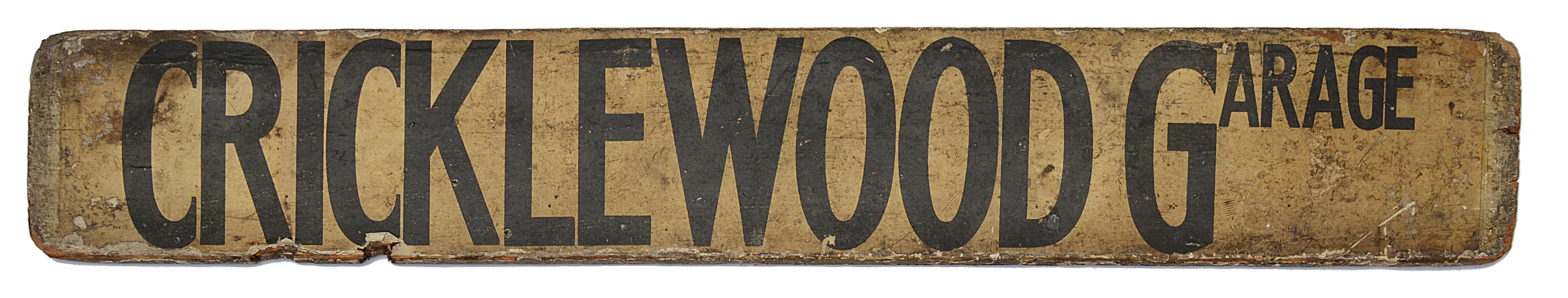Three double sided wooden destination signs - Image 3 of 8