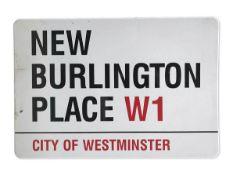New Burlington Place W1