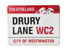 Drury Lane WC2 Theatreland