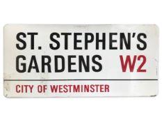 St. Stephen's Gardens W2