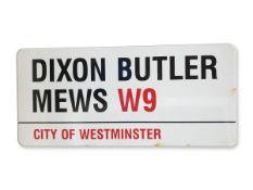 Dixon Butler Mews W9