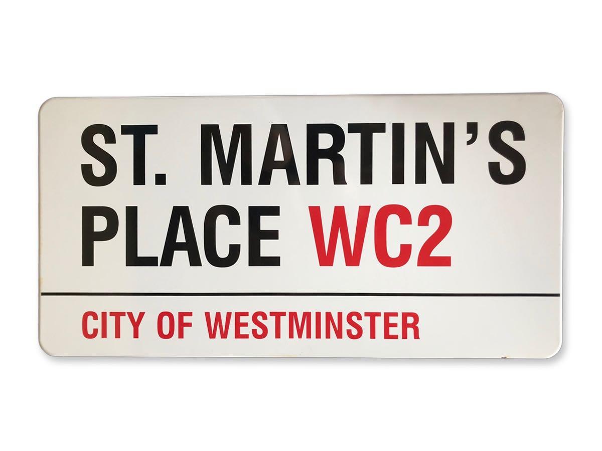 St. MartinÕs Place WC2