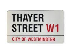 Thayer Street W1