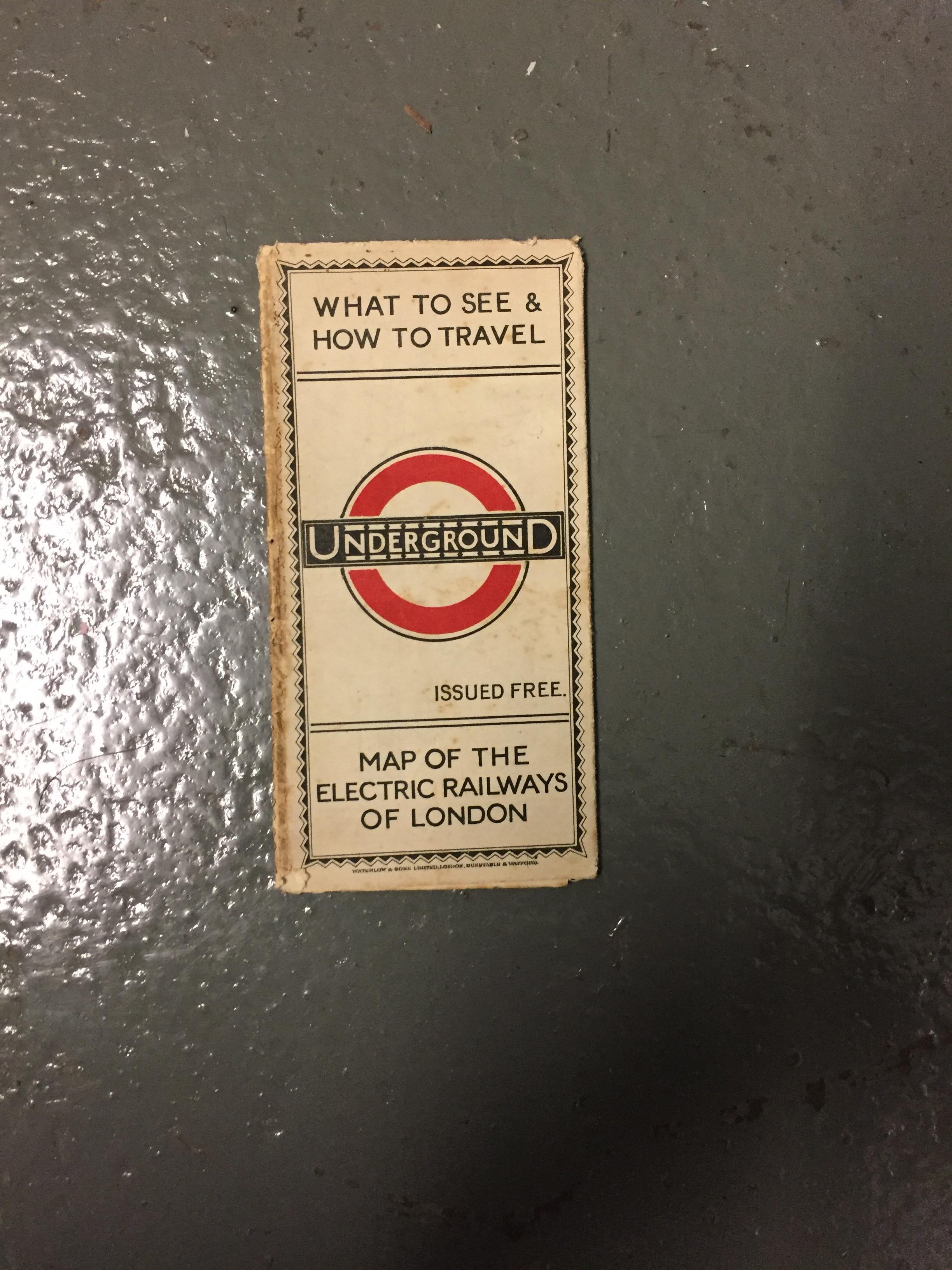 Nine 1910/20s folding pocket maps for London transport,comprising a 1916 General Omnibus Map of some - Image 12 of 15