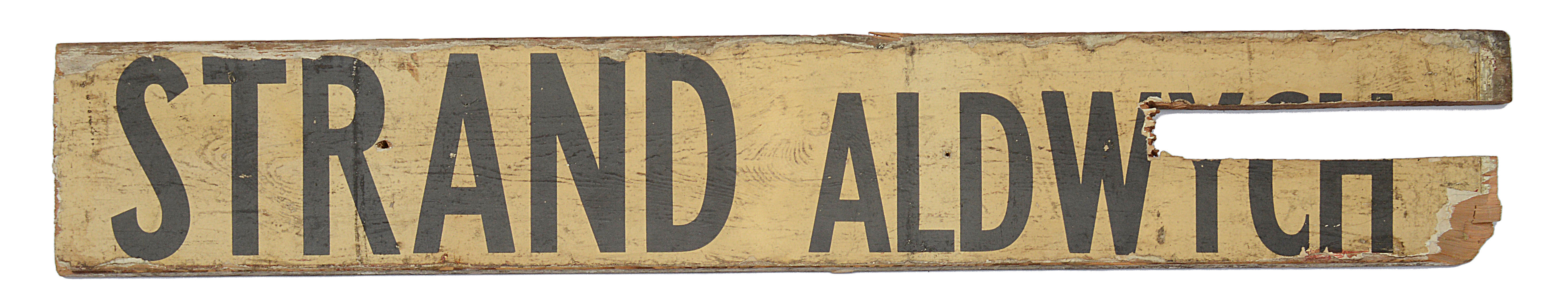 Three double sided wooden destination signs - Image 5 of 8