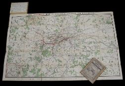 The District Map of Greater London & Environs, 1st edition 1902