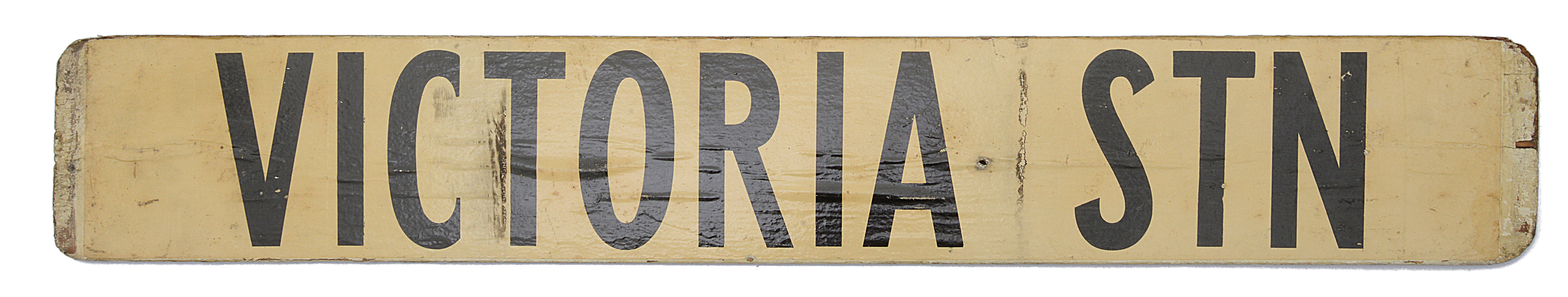Three double sided wooden destination signs - Image 7 of 8