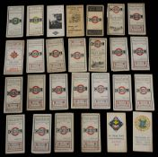A collection of early 20th century London General maps