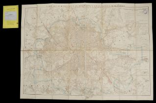 Stanford's Map of Metropolitan Railways, Tramways, and other
