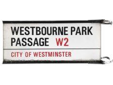 Westbourne Park Passage W2