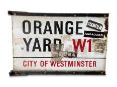 Orange Yard W1