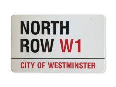 North Row W1