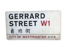 Gerrard Street W1 Chinatown