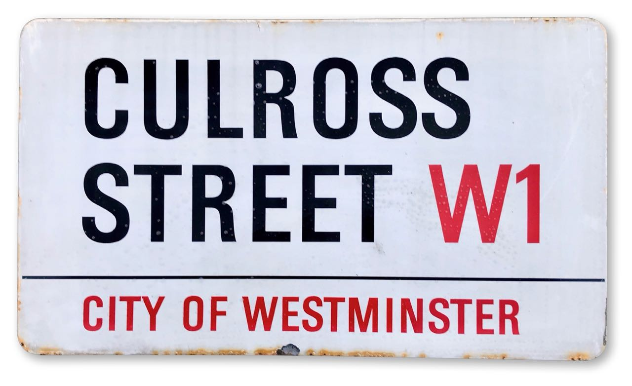 Culross Street W1