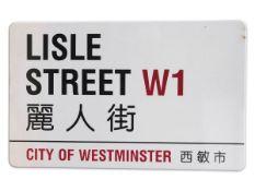 Lisle Street W1