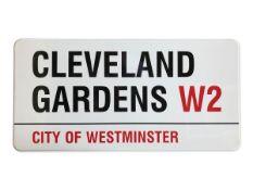 Cleveland Gardens W2