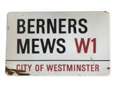 Berners Mews W1