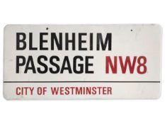 Blenheim Passage NW8