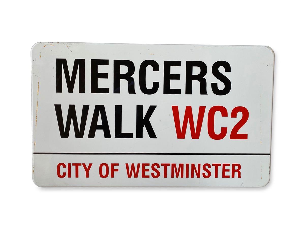 Mercers Walk WC2