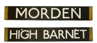 High Barnet/Morden