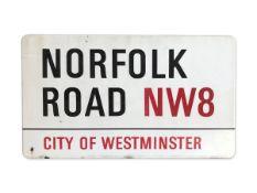 Norfolk Road NW8