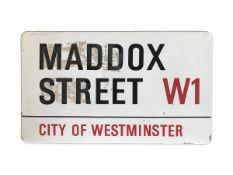 Maddox Street W1