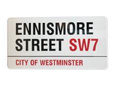 Ennismore Street SW7