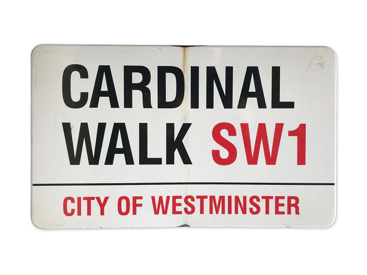Cardinal Walk SW1