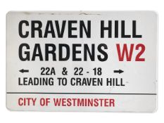 Craven Hill Gardens 22A & 22-18 Leading to Craven Hill W2