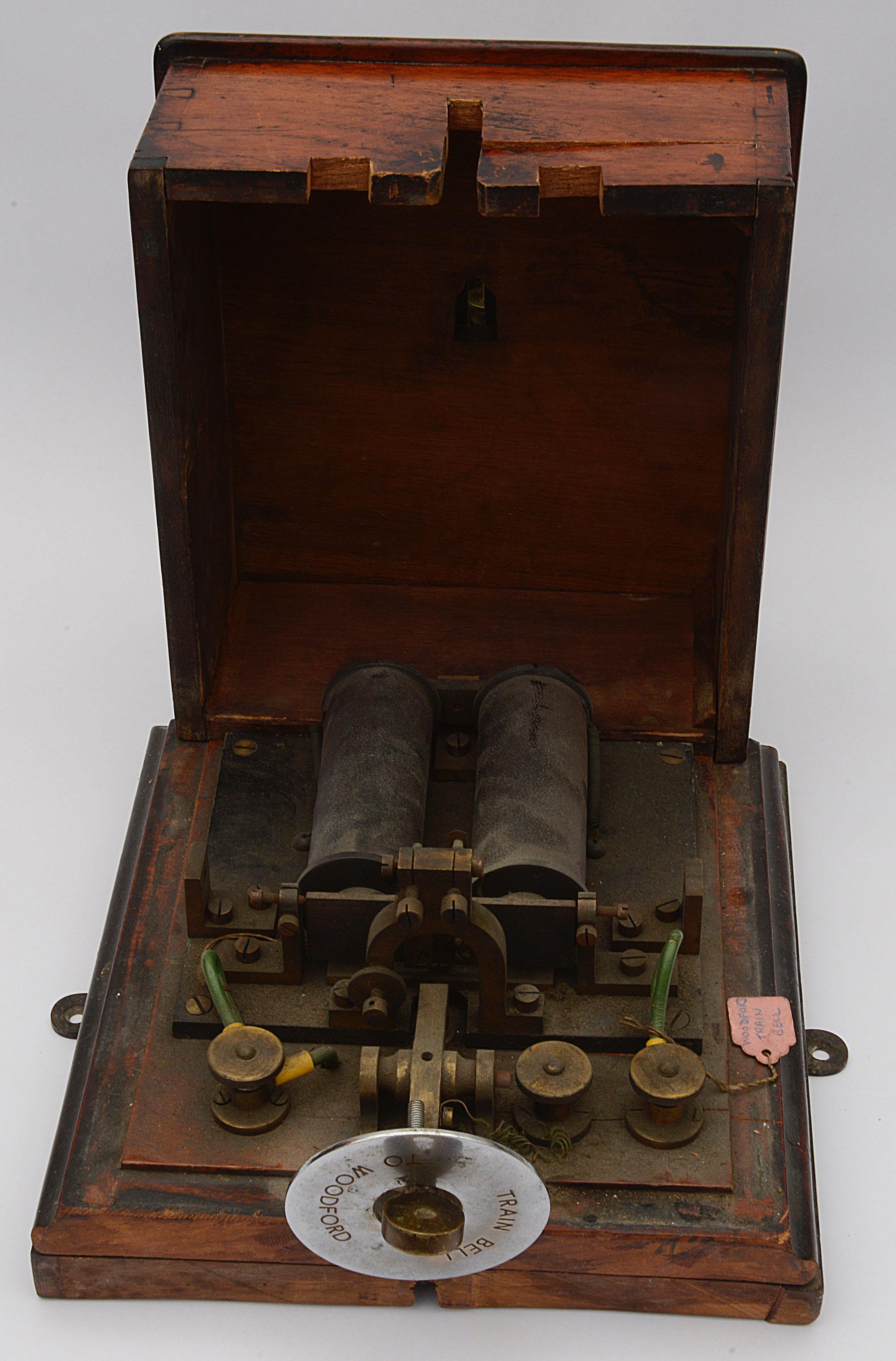 A railway signal box block bell - Image 2 of 2