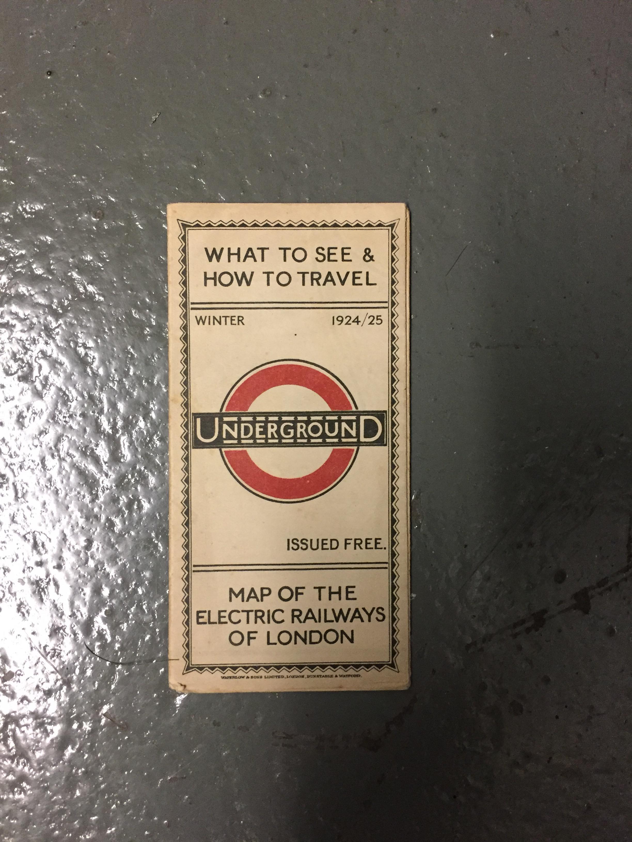 Nine 1910/20s folding pocket maps for London transport,comprising a 1916 General Omnibus Map of some - Image 14 of 15