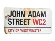 John Adam Street WC2