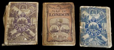 The District Railway Map of London, 5th edition c.1892-3