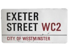 Exeter Street WC2