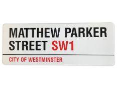 Matthew Parker Street SW1