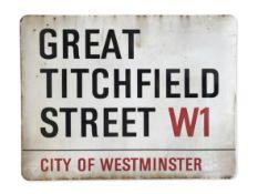 Great Titchfield Street W1