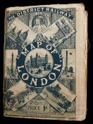 The District Railway Map of London, 5th edition c.1895