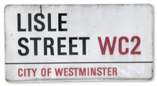 Lisle Street WC2
