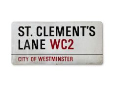 St. Clement's Lane WC2
