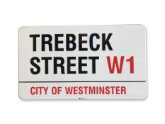Trebeck Street W1