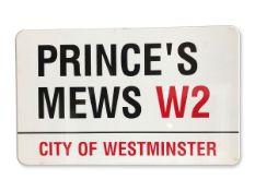 PrinceÕs Mews W2