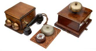 A GWR railway signal box telephone