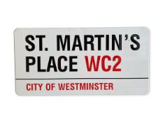 St. Martin's Place WC2