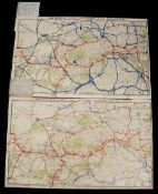 The Improved District Railway Map of London, 1886 3rd edition